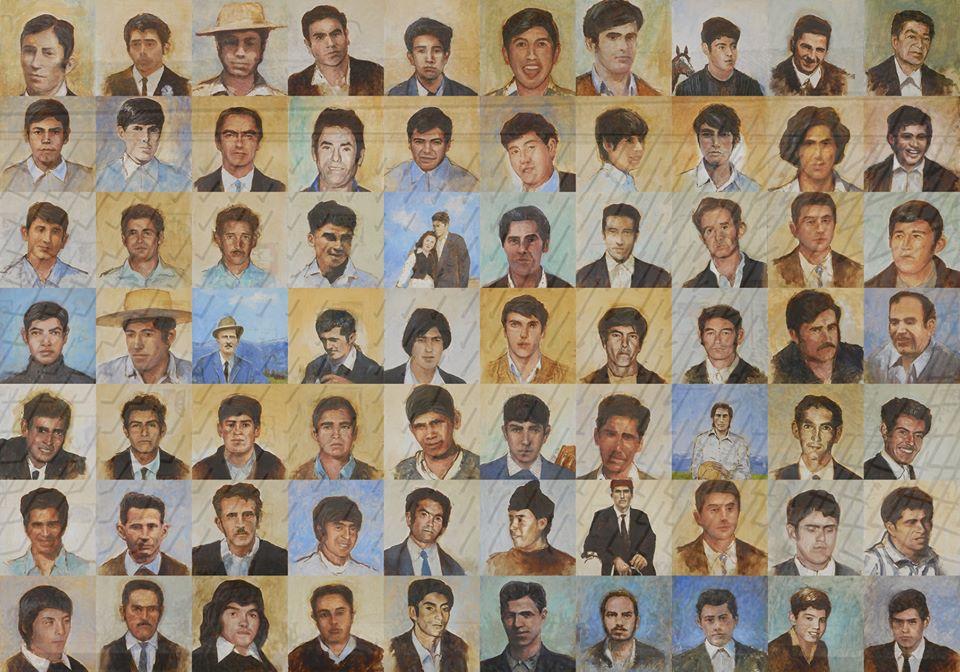Retratos de la memoria, 70 razones para no olvidar