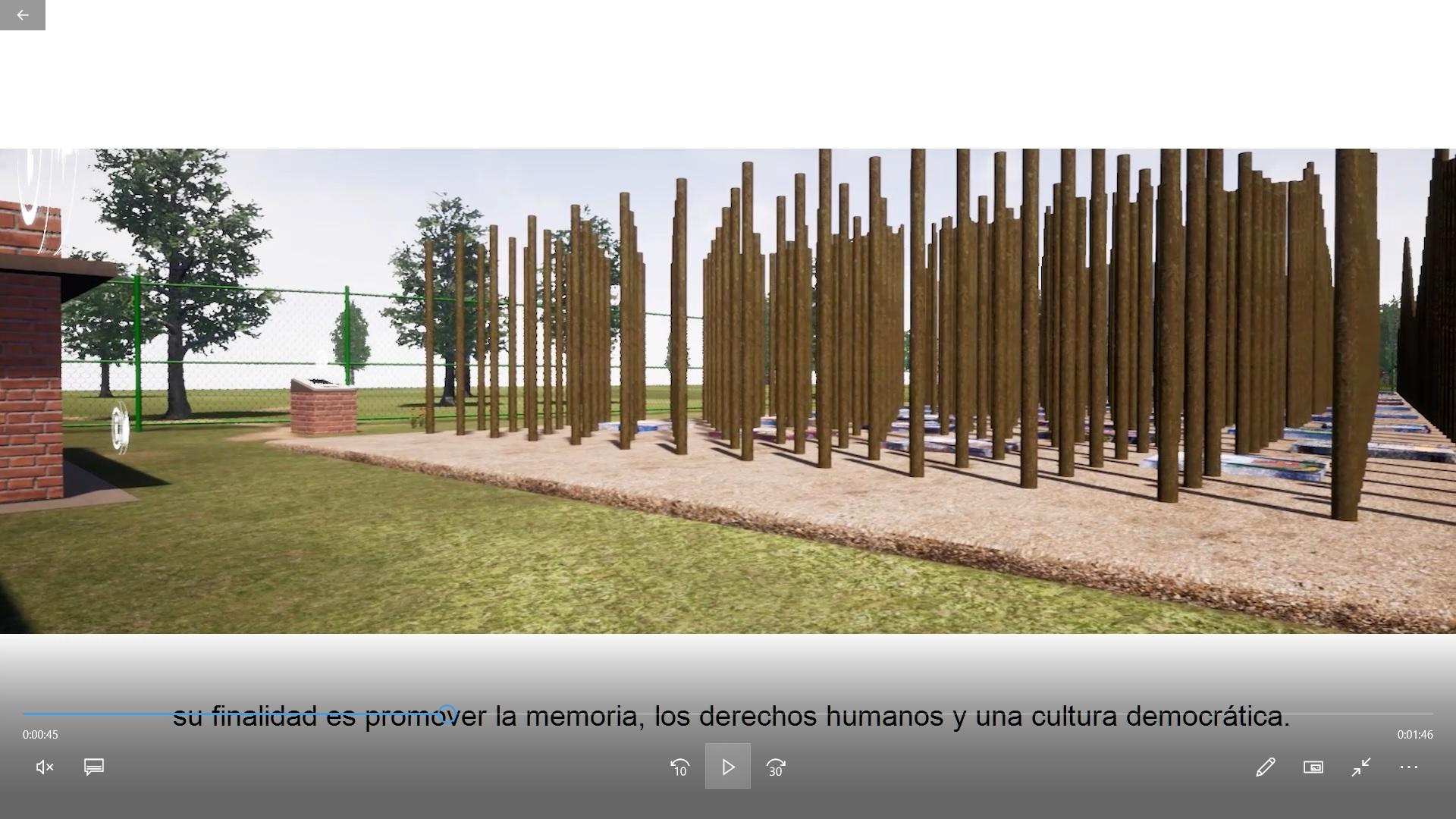 ¡Click!: visita y recorre el Memorial de Paine virtual