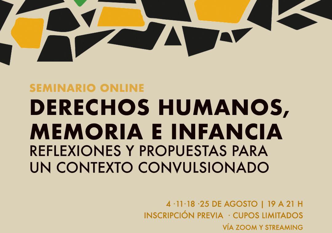 Seminario Derechos Humanos, Memoria e Infancia